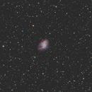 Nébuleuse du crabe (Messier 1),                                mario_hebert
