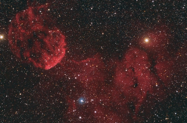 IC443 - Jelly Fish Nebula,                                Arno Rottal