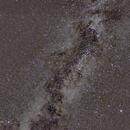 The Summer Triangle inside the Milky Way,                                Hans-Peter Olschewski