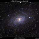 M33 - Triangulum Galaxy,                                Brice Blanc