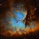 NGC 281 - Pacman Nebula,                                Tim