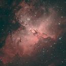 M16 Eagle Nebula,                                John Burns