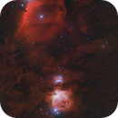 Orion's belt and sword,                                Emil Andronic