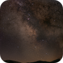 Milky Way mountain landscape,                                OrionRider