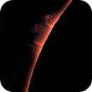 Sun, prominences, April 20, 2021,                                Ennio Rainaldi