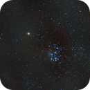 Conjunction of Mars and the Pleiades on March 3, 2021,                                JDJ