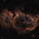 IC1848: The Soul Nebula Bicolour (Ha/OIII) (2019),                                Daniel Tackley