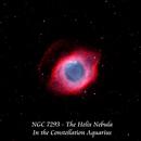 NGC 7293 - The Helix Nebula   HOO,                                Paul Borchardt