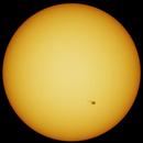 Sun with sunspots AR 2835 2836 2837 on july 2nd 2021,                                Piet Vanneste
