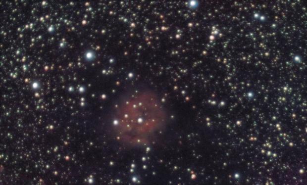 IC5146 - Cocoon Nebula - LRGB - 20191005 - ST80,                                altazastro