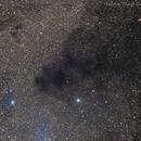 Dark Clouds in Coalsack Nebula,                                Delberson