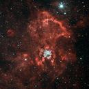 NGC3247 in Narrowband Bicolor,                                John Ebersole
