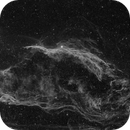 NGC 6960 Veil Nebula West in Luminance Ha + 0,75 OIII,                                Jean-François Dou...