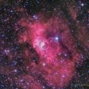 NGC 7635, The Bubble Nebula in HaRGB,                                Scott