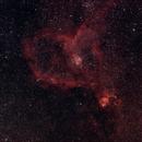 IC1805 HEART NEBULA,                                Starblazer