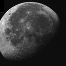 Abnehmender Mond (Mosaik),                                Silkanni Forrer
