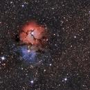 Messier 20,                                Ignacio Montenegro