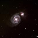 M51 Whirpool Galaxy,                                poblocki1982