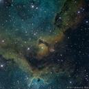 IC1848 (SH2-199) - Soul Nebula in SHO,                                Richard Bratt