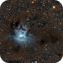 NGC 7023 a crop from the previous Image,                                Christian Höferlin
