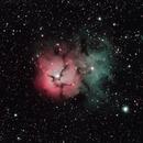 M20 - Trifid Nebula,                                Bob Stewart