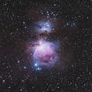 M42 Orion Nebula,                                Kaepsele
