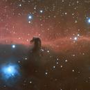 Horsehead nebula drizzle/crop,                                Tom's Pics
