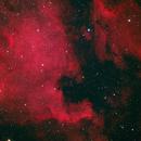 NGC 7000: HaRGB (testing quality of guiding scope),                                Ruediger
