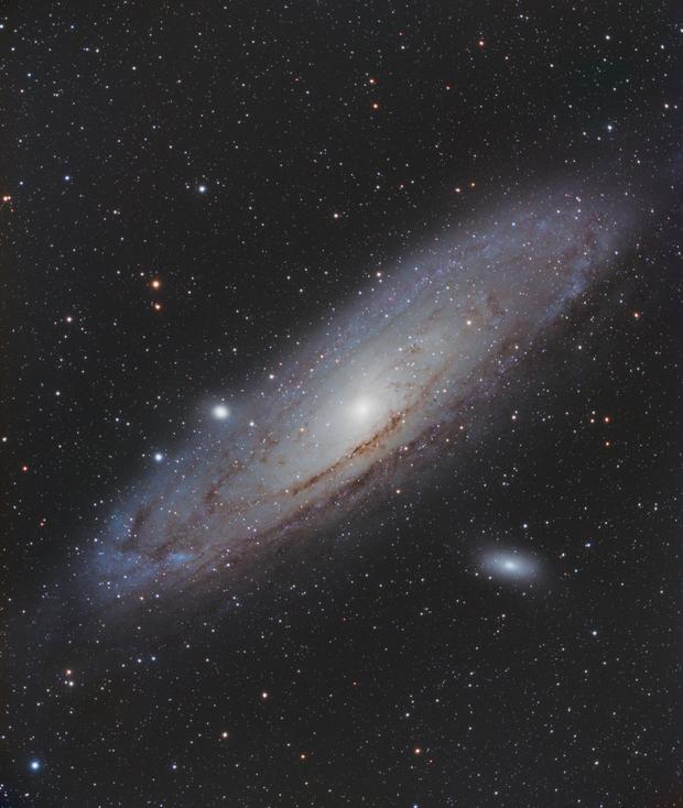 M31 - Andromeda Galaxy,                                Mike Hislope