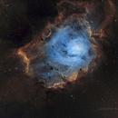 NGC 6530 Herschel 36 - SHO,                                Richard H