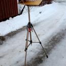Testing selfmade barndoor tracker,                                Elina Niemi