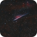 NGC 2736 - Pencil Nebula,                                Gerson Pinto