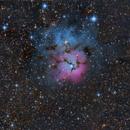 M20 Nebulosa Trífida,                                Ernesto Arredondo