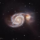 Messier 51 - The Whirlpool Galaxy - Full Moon Galaxy Quest Part 4,                                Timothy Martin & Nic Patridge