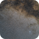 Altair interstellar G-Cloud, The Dumbell, Barnards E,  And a vast spanse of Milkyway,                                Wes Schwarz