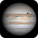 2020.8.29 - Jupiter with IO, Ganymede and Ganymede's shadow in transit,                                astrolord