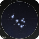 M45 Pleiades Sketch,                                Elendil1357