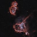 IC 1805 Heart Nebula - IC 1848 Soul Nebula 20200806 29280s LHHO 01.7.7,                                Allan Alaoui