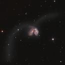 NGC4038 - The Antannae Galaxies,                                weathermon