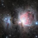 M42 Orion Nebula,                                const
