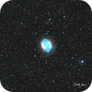 M27 Dumbbell Nebula,                                Carl Weber
