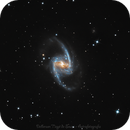 NGC 1365: Barred Spiral Galaxy,                                Delberson
