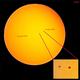 Sunspots 2506, 2508,                                Donnie B.