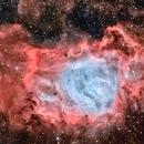 Messier 8 en HOO,                                Georges