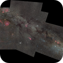 Superwide field mosaic - from Orion to Cassiopea,                                Janos Barabas