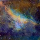 LBN 251 Hubble Palette,                                Eric Coles (coles44)