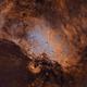 Eagle Nebula Narrowband,                                Girish