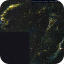 Cygnus Loop (Eastern and Western Veil and Pickerings Triangle)in the constellation of Cygnus,                                Phil Swift