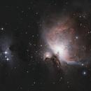 M42 | Orion Nebula,                                mathieu aubin