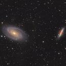 M81 & M82.  Bode's and Cigar Galaxy,                                Chris Parfett @astro_addiction